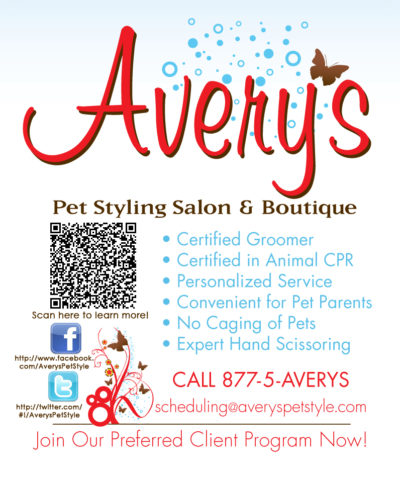avery's pet style mobile pet grooming service