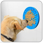 Distract Your Dog with Food During Bathing!
