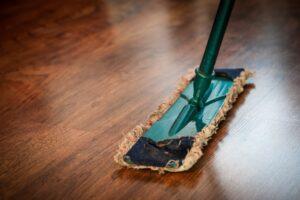 Clean Wood Floors can Help with Pet Allergies